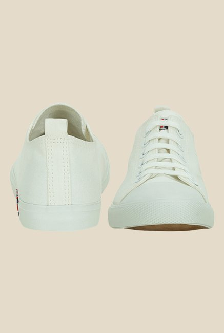 Get Glamr David White Sneakers