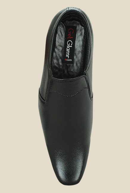 Get Glamr James Black Formal Loafers