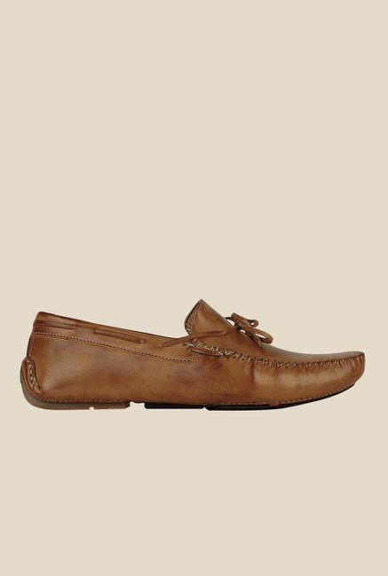 Get Glamr Jericho Brown Loafers