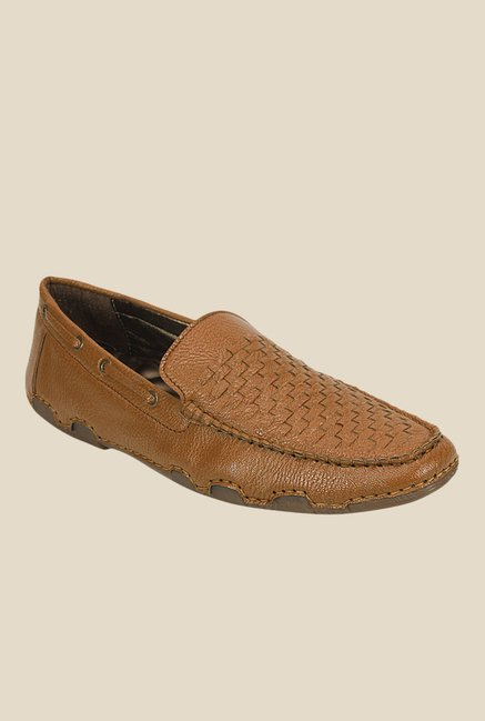 Get Glamr Hugo Brown Loafers