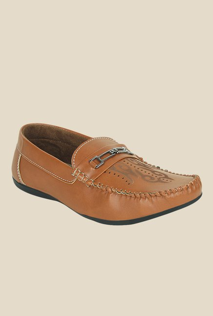 Get Glamr Francis Brown Loafers