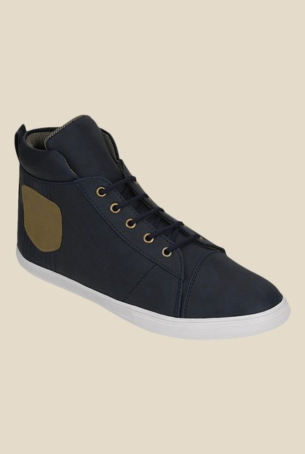 Get Glamr Harry Navy Sneakers