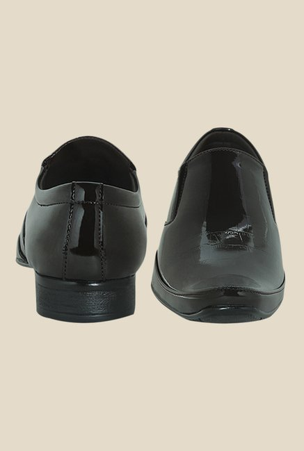 Get Glamr Jade Brown Formal Loafers