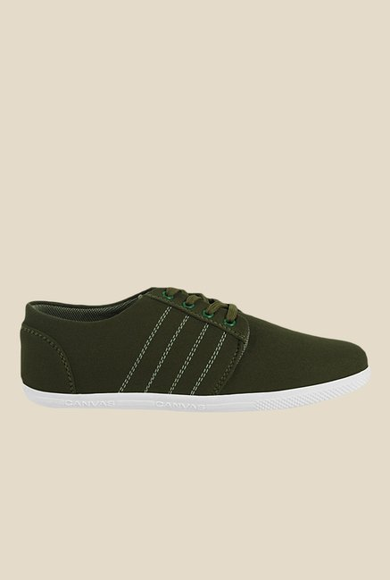 Get Glamr Prince Green Sneakers