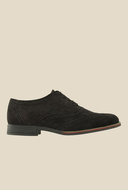 Get Glamr Boris Brown Brogue Shoes
