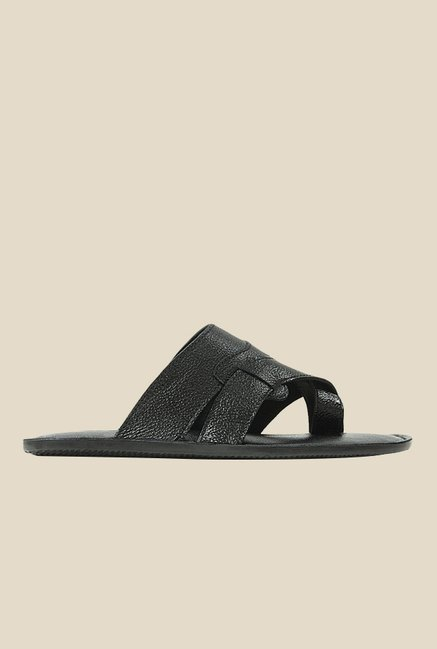 Get Glamr Jim Black Slide Sandals