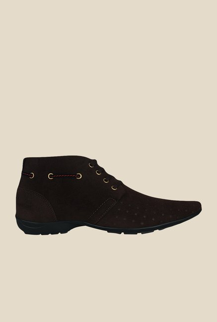 Get Glamr Monet Brown Derby Shoes