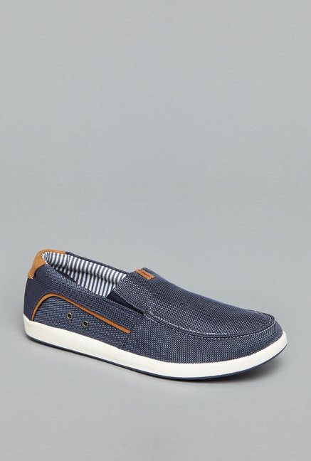 David Jones by Westside Navy Slip-On Shoes