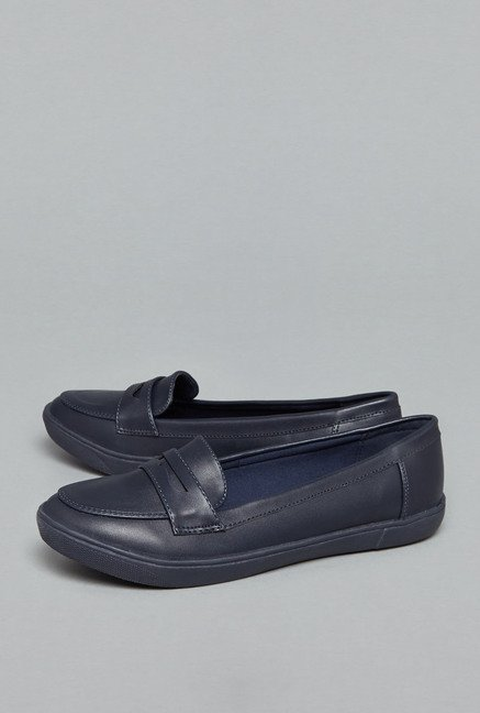 Head Over Heels by Westside Navy Loafer Shoes