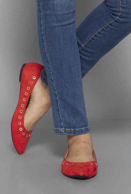 Head Over Heels by Westside Coral Ballerina Shoes
