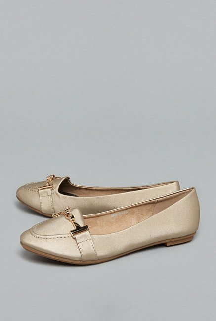 Head Over Heels by Westside Gold Ballerina Shoes