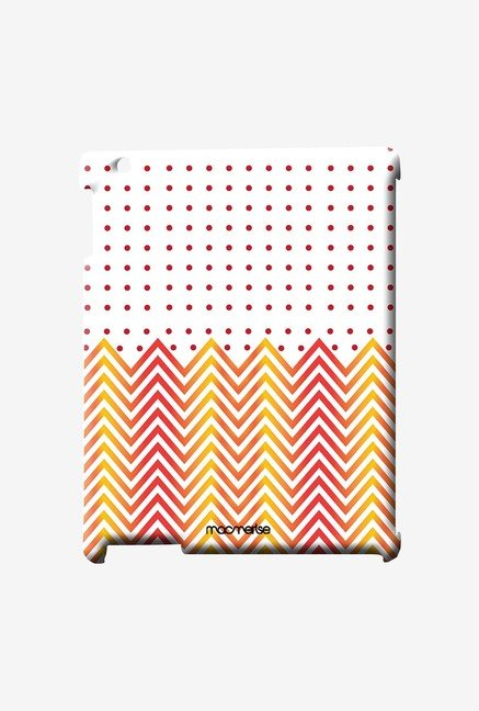 Macmerise Polka Chevron Pro Case for iPad Air