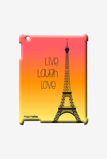 Macmerise Live Laugh Love Pro Case for iPad Air