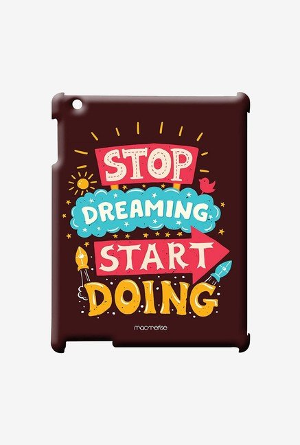 Macmerise Stop Dreaming Start Doing Pro Case for iPad 2/3/4