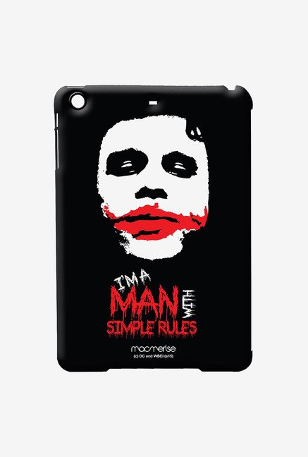 Macmerise Man With Simple Rules Pro Case for iPad Air