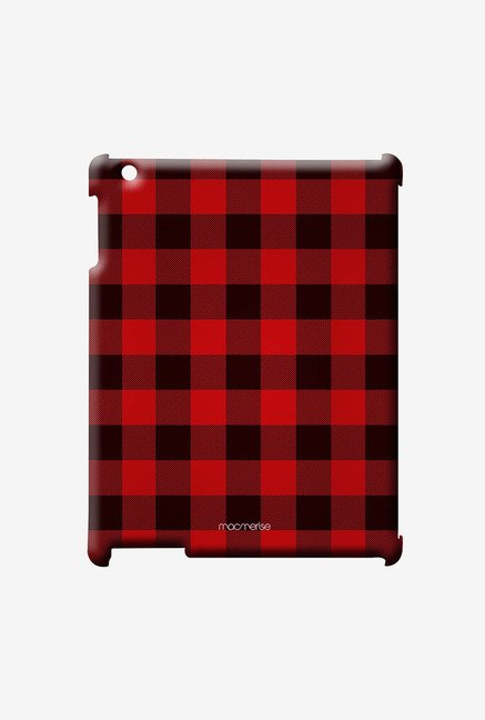 Macmerise Checkmate Red Pro Case for iPad Air