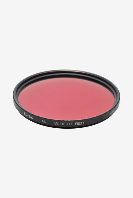 Kenko 62mm Twilight Red Camera Lens Filter (Black)