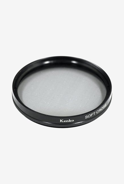 Kenko 77mm Soft Cross Screen Camera Lens Filter (Black)