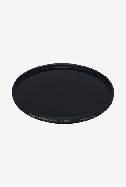 Kenko 72mm Pro ND16 Slim Frame Camera Lens Filter (Black)