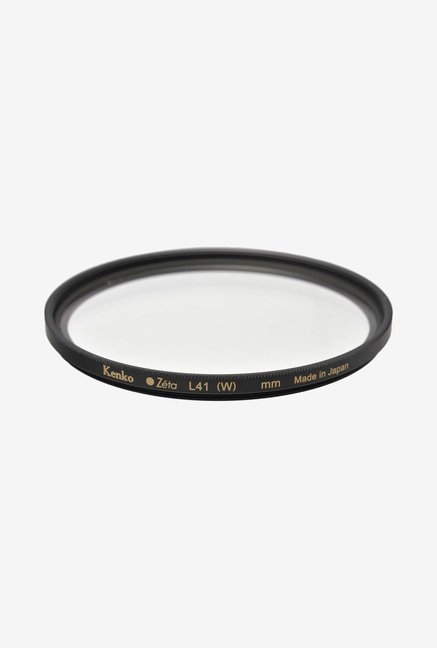 Kenko 77mm Zeta L41 Uv Zr Coated Camera Lens Filter (Black)