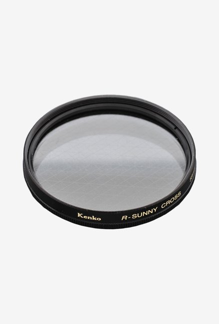 Kenko 49mm R-Sunny Screen Camera Lens Filter (Black)