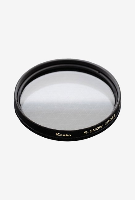 Kenko 52mm R-Snow Cross Screen Camera Lens Filter (Black)