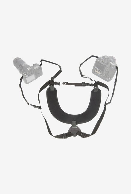 Op/Tech Usa 6501042 X-Long Dual Harness (Black)