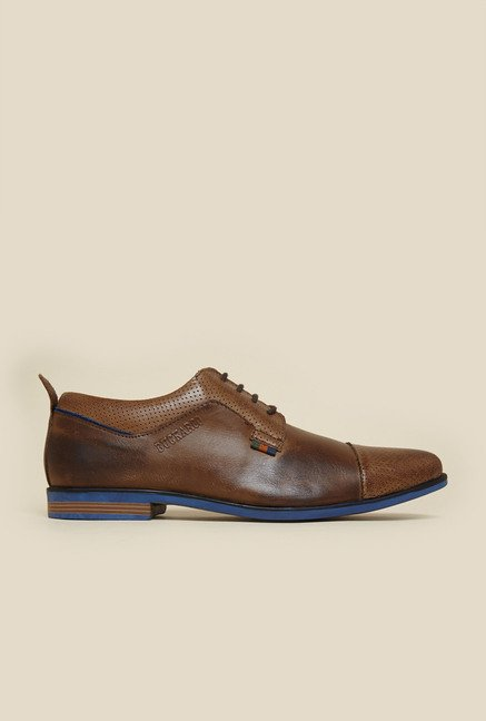 Buckaroo Jaron Brown Derby Shoes