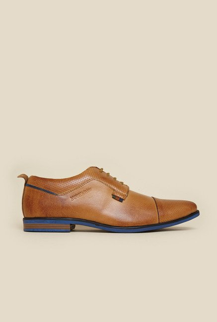 Buckaroo Jaron Tan Derby Shoes