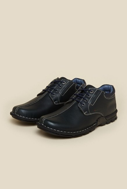 Buckaroo Carlitod Dark Blue Derby Shoes