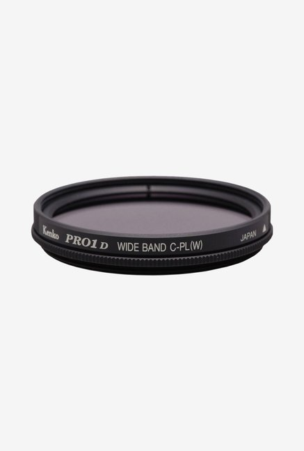 Kenko 43mm Pro1D C-PL Slim Frame Camera Lens Filter (Black)