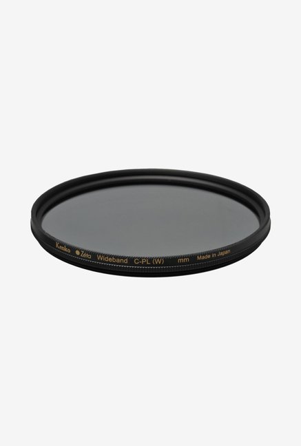Kenko 49mm Zeta C-PL ZR-Coated Camera Lens Filter (Black)