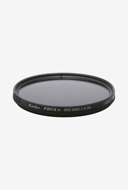 Kenko 52mm Pro1D C-PL Wideband Camera Lens Filter (Black)