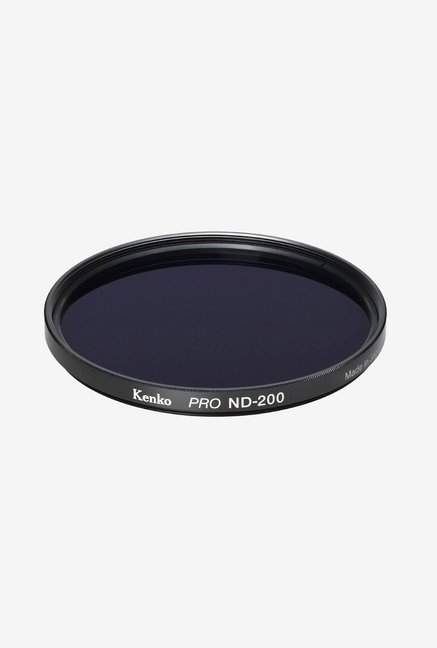 Kenko 55mm Pro ND200 Multicoated Camera Lens Filter (Black)
