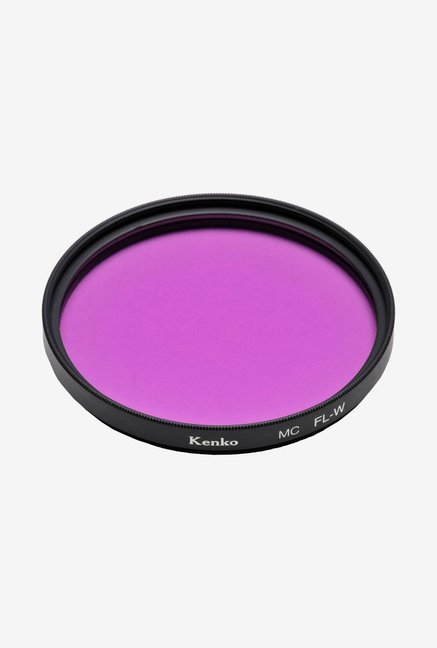 Kenko 55mm FL-W Multi-Coated Camera Lens Filter (Black)
