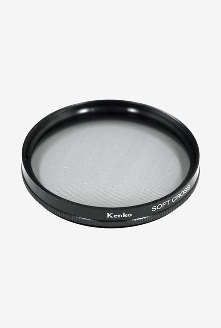 Kenko 58mm Soft Cross Screen Camera Lens Filter (Black)
