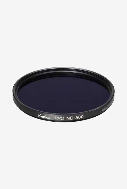Kenko 58mm Pro ND500 Multicoated Camera Lens Filter (Black)