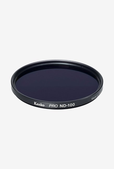 Kenko 62mm Pro ND100 Multicoated Camera Lens Filter (Black)