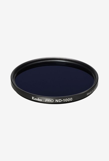 Kenko 62mm Pro ND1000 Multicoated Camera Lens Filter (Black)