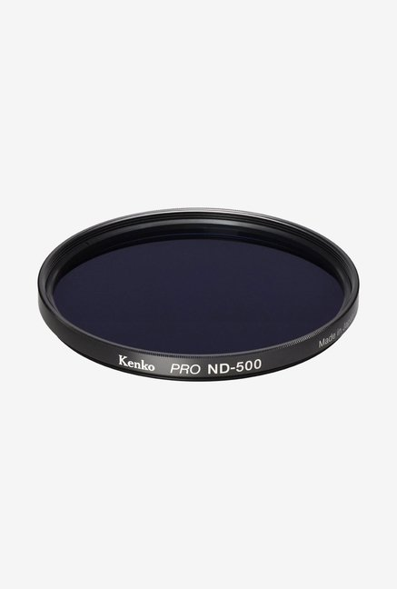 Kenko 62mm Pro ND500 Multicoated Camera Lens Filter (Black)