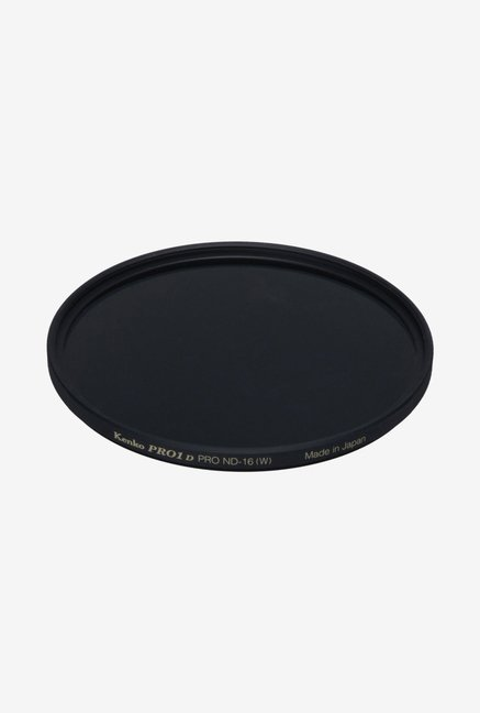 Kenko 62mm Pro ND16 Slim Frame Camera Lens Filter (Black)