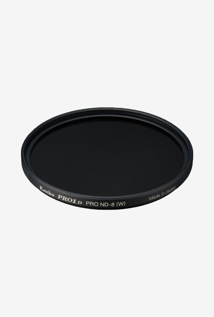 Kenko 62mm Pro ND8 Slim Frame Camera Lens Filter (Black)