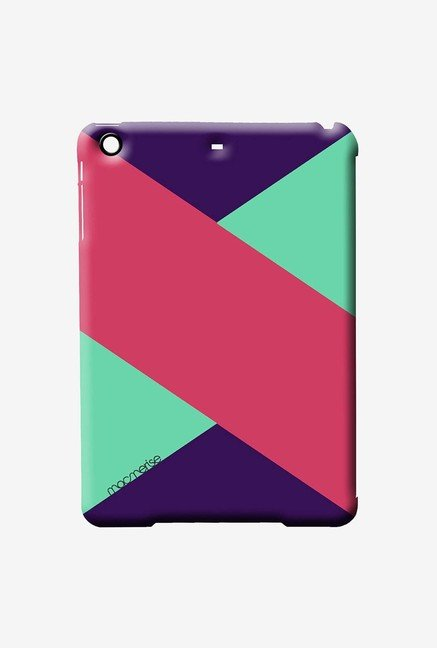 Macmerise Tealpink Stripes Pro Case for iPad Air