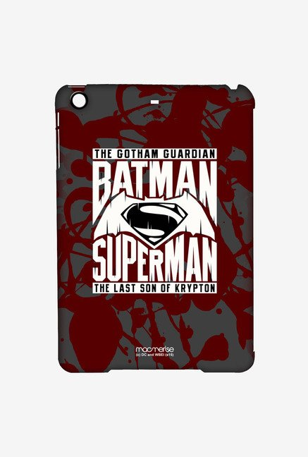 Macmerise Gotham vs Krypton Red Pro Case for iPad Air