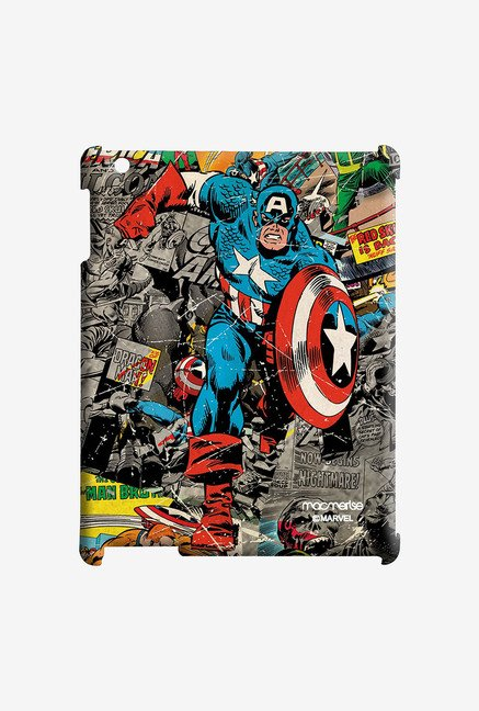 Macmerise Comic Captain America Pro Case for iPad Air