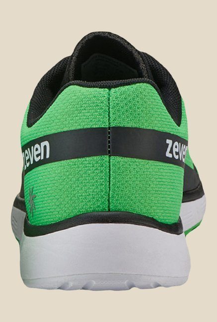 Zeven Grip Green & Black Training Shoes