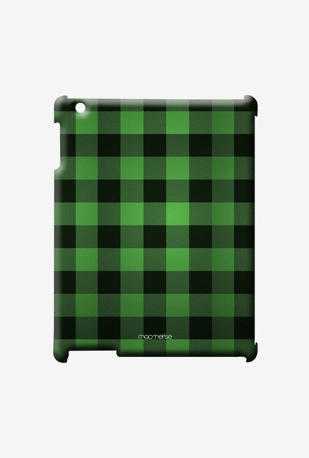 Macmerise Checkmate Green Pro Case for iPad Air 2