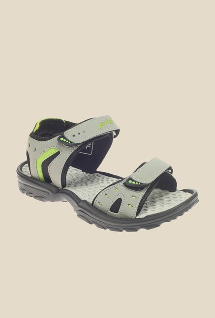 Khadim's Pro Grey Floater Sandals