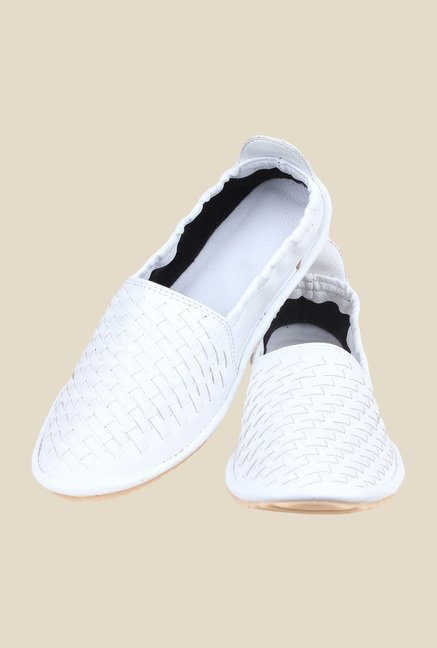 Shoetopia White Espadrilles Shoes