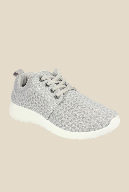 Shoetopia Grey & White Sneakers